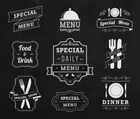 Special menu labels
