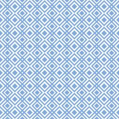 geometric pattern of diamonds.