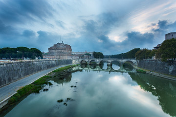 Castel Sant'Angelo at dawn