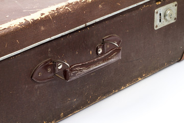 Old suitcase. Vintage style