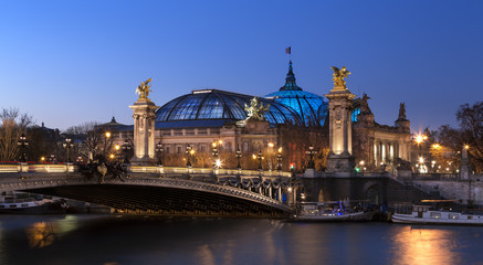 Pont Alexandre 3 et Grand Palais Fototapete