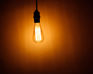 bulb lamp with warm light