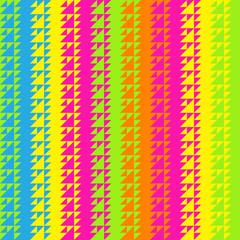 Seamless colorful Geometric Triangular Zigzag Pattern. Texture B