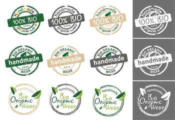Bio organic wear tag