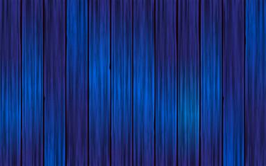Fondo de madera realista azul. Textura de madera