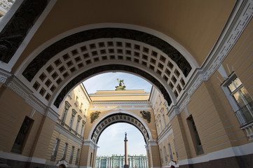 St. Petersburg Under Arches