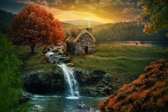 Peaceful cottage