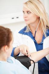 Hospital: Focus on Stethoscope
