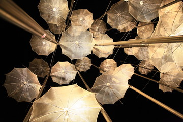 Lightened Decorative Umbrellas