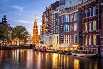 Wall Mural - Amsterdam Canals