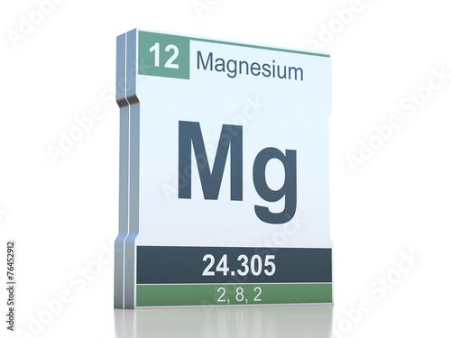 Magnesium symbol element from the periodic table stock photo and magnesium symbol element from the periodic table urtaz Images