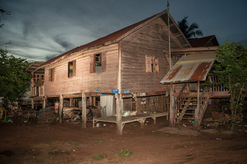 Old house in Thailand
