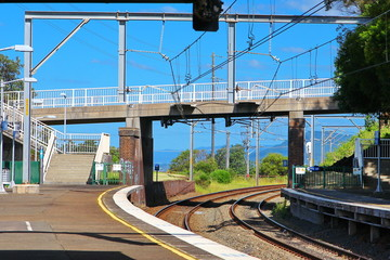 Train station Australia