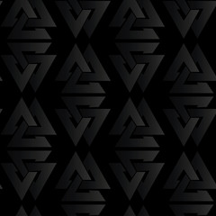 seamless black volume pattern