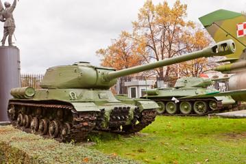 Soviet heavy tank IS-2 (Joseph Stalin)
