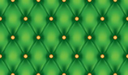Wall Mural - Green luxury quiltn vector seamless pattern