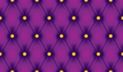 Wall Mural - Violet luxury quiltn vector seamless pattern