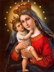 Obraz Obraz Madonny z dzieckiem - fototapety do salonu