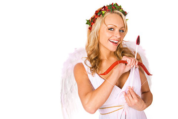 Cupid: Looking For Love With Bow and Arrow