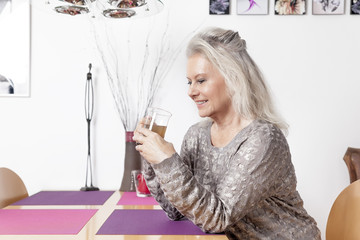 woman and tea