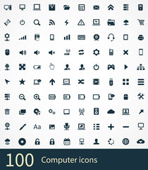100 computer icons