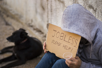 Jobless seek help