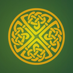 Celtic ornament symbol