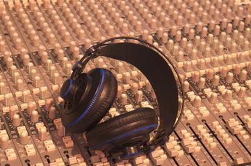 Music, Headphones, Music console