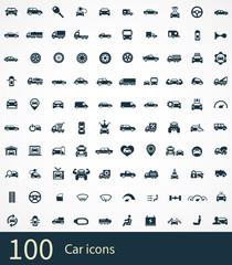 100 car icon