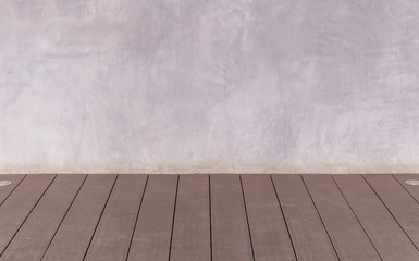 Cement and wooden wall abstract background