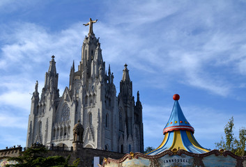 Expiatory Church of the Sacred Heart of Jesus in Barcelona