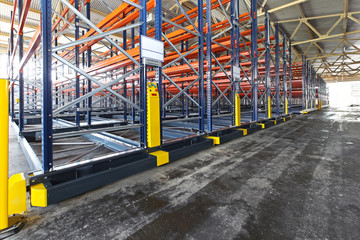 Roller racking systems
