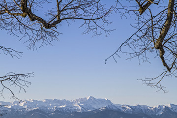 Fototapete - Bayrische Alpen