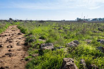 The Dolmen trail in Gamla