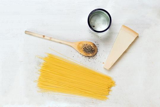 Pasta ingridients