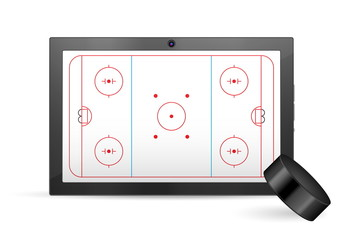 tablet hockey