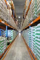 Sacks in Warehouse