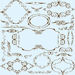Ornate victorian set