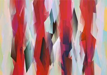 Muster mit roten Streifen