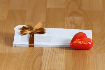 envelope for valentine's day
