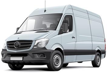 European delivery van