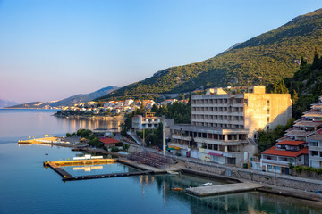The tourist resort of Neum, Bosnia Herzegovina.