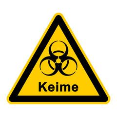 wso109 WarnSchildOrange - hochresistenter Keim - multiresistente Erreger - Antibiotikaresistenz - icon symbol g3034