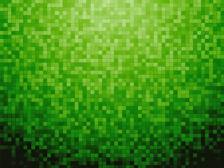 Colorful green dark checkered background