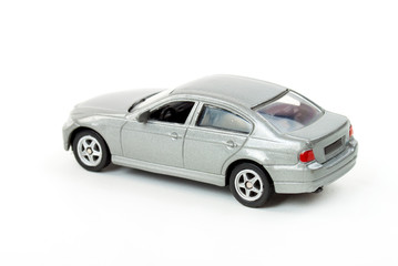 Classic Metal grey model car