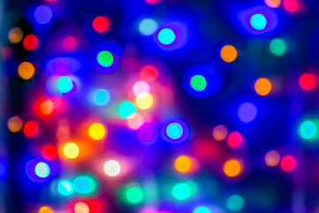 colourful bokeh