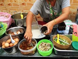Thai rice porridge