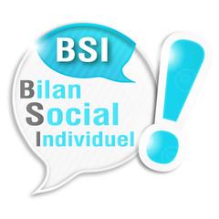 bulle rayée acronyme : BSI