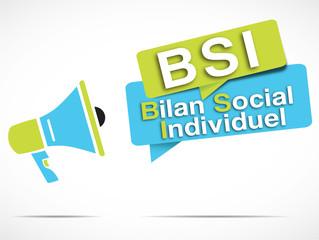 mégaphone acronyme : BSI