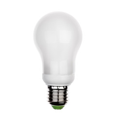 Isolate energy saving LED light bulb with e27 socket